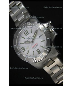 Ball Hydrocarbon Spacemaster Automatic Replica Watch in White Dial - Original Citizen Movement