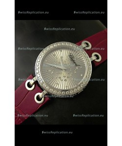 Chopard Xtravaganza Ladies Japanese Replica Watch in Silver Dial