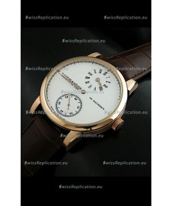 A. Lange & Sohne Glashutte In Sachskn Classic Replica Rose Gold Watch