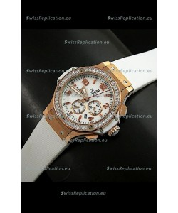Hublot Geneve Big Bang Japanese Replica Watch in White