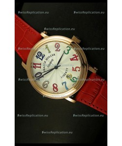 Franck Muller Master of Complications Liberty Japanese Watch in Arabic Numerals
