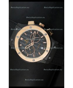 Hublot Classic Fusion Chrono Japanese Quartz Replica Watch Two Tone