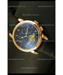 Patek Philippe Grand Complications Tourbillon Automatic Watch in Pink Gold