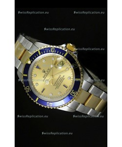 Rolex Submariner Gold Dial Swiss Replica Watch - 1:1 Mirror Replica Watch