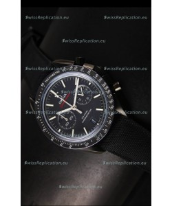 Omega Speedmaster Moon Watch Co-Axial Japanese Replica Watch Black Case Watch