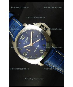 Panerai Luminor Marina GMT PAM437L Titanium Swiss Watch - 1:1 Mirror Replica