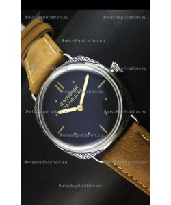 Panerai Radiomir PAM425 Floral engraved Case in Stainless Steel Case
