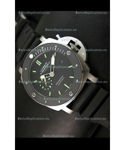Panerai Luminor Submersible PAM389 Japanese Replica Watch Stainless Steel