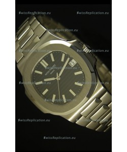 Patek Philippe Nautilus 5711 Jumbo Swiss Watch Black - 1:1 Ultimate Mirror Replica