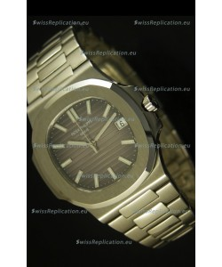 Patek Philippe Nautilus 5711 Jumbo Swiss Watch Grey - 1:1 Ultimate Mirror Replica