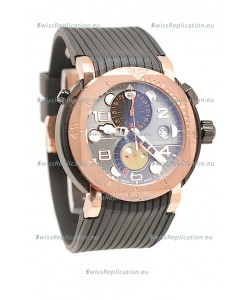 Mont Blanc Sports Chronograph Japanese Watch