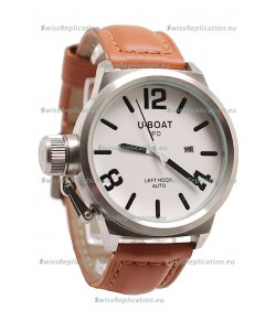 U-Boat Classico Japanese Watch in White Dial