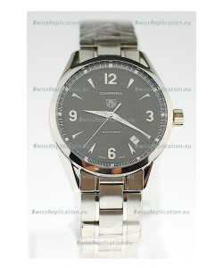 Tag Heuer Carrera Swiss Replica Automatic Watch in Black Dial