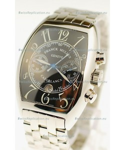 Franck Muller Casablanca Chronograph Swiss Watch in Black Dial