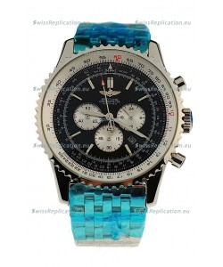 Breitling Navitimer Chronometre Japanese Watch in Black Dial