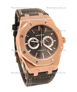 Audemars Piguet Rhone-Pustlril Royal Oak Offshore Limited Edition Swiss Gold Watch