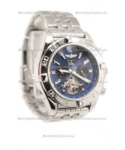 Breitling Chronograph Chronometre Replica Watch in Blue Dial