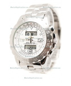 Breitling Chronograph Chronometre Replica Steel Watch
