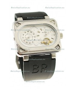 Bell and Ross BR Minuteur Tourbillon Japanese Steel Watch
