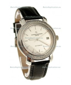Vacheron Constantin Geneve Japanese Replica Watch in Stick Hour Markers