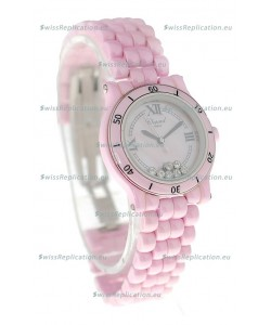 Chopard Happy Sport Ladies Japanese Pink Watch