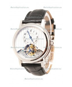 Breguet Grande Complication Tourbillon Co Axial Swiss Replica Watch in White