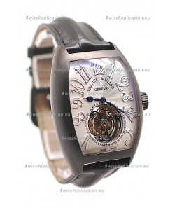 Franck Muller Aeternitas Tourbillon Swiss Replica PVD Watch in White Markers