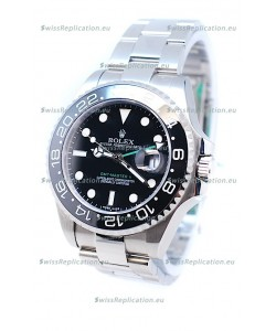 Rolex GMT Masters II 2011 Edition Replica Ceramic Bezel Watch