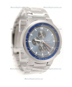 IWC Aquatimer Japanese Replica Watch in Blue Dial