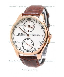 IWC Portuguese Regulateur Japanese Gold Watch