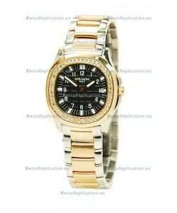 Patek Philippe Aquanaut Two Tone Ladies Gold Watch