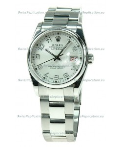 Rolex Datejust Japanese Replica Silver Watch
