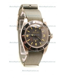 Rolex Submariner Swiss Watch Nylon Strap Watch