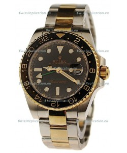 Rolex GMT Masters II Swiss Replica Two Tone Watch