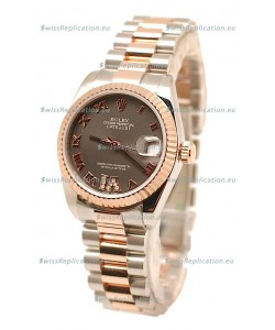 Rolex Datejust Diamond VI Japanese Replica Watch - 36MM