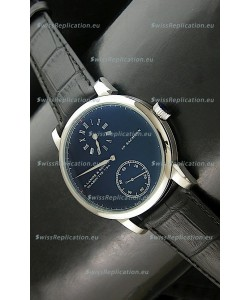 A. Lange & Sohne Cortes de Geneve Decorative Bridges Classic Replica Watch in Black Dial