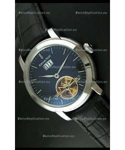 Audemars Piguet Jules Tourbillon Japanese Replica Watch in Dark Blue Dial