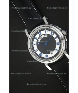 Breguet De La Marine Swiss Replica Watch in Black & White Dial