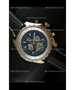 Breitling for Bentley Japanese Replica Tourbillon Watch