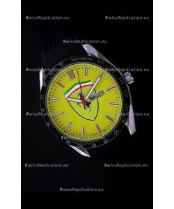 Ferrari Watches in Yellow Dial