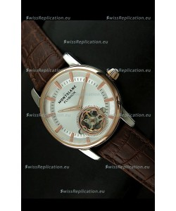 Mont Blanc Flyback Japanese Tourbillon Replica Watch
