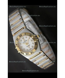 Omega Constellation Ladies Japanese Quartz Watch in Rose Gold
