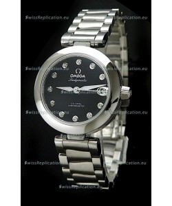 Omega Deville Ladymatic Chronometer Swiss Automatic Watch - 1:1 Mirror Replica