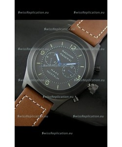 Radiomir Panerai Mare Nostrum Japanese PVD Automatic Watch