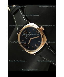 Panerai Radiomir Special Ed Watch - Pink Gold Case - 1:1 Mirror Replica