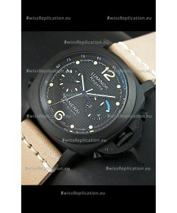 Panerai Luminor Regatta Rattrapante Japanese Replica PVD Watch