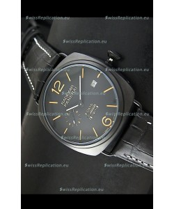 Panerai Radiomir 8 Days Japanese Replica Watch in PVD Casing