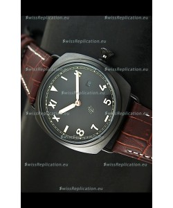 Panerai Radiomir California Edition Japanese Replica Watch in PVD Case