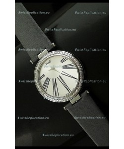 Piaget Altiplano Duo Dual Swiss Diamonds Bezel Watch
