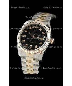 Rolex Day Date Swiss Watch in Two Tone
